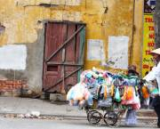 People need at least US$50 to survive for a month in Hanoi. This is twice the official urban poverty line (Photo via Commons Wikimedia/Google licence)