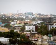 The UN estimates that a million Somalis were displaced during 2017. Many move to informal settlements on the fringes of the capital, Mogadishu (Photo: AMISOM Public Information via Wikimedia Commons)