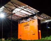 Companies such as SteamaCo are making energy easier to access in remote villages in Kenya by using 'microgrids' (Photo: Sam Duby, SteamaCo)