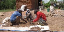 Small-scale miners dry ores in the process of gold mining in Geita, Tanzania (Photo: John Louis/Investing In Gold, Creative Commons)