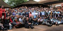Participants of the CBA9 conference in Kenya in 2015 (Photo: Matt Wright/IIED)