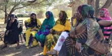 Group discussions with women in Isiolo County, Kenya helped to generate specific evidence about why they and other marginalised groups are more vulnerable to climate change (Photo: Susannah Fisher, IIED)