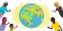 A still from IIED's animation about the SDGs (Image: Hands Up/IIED)