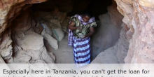A woman miner in Tanzania, who features in a film on stories of change on artisanal and small-scale mining (Image: IIED)