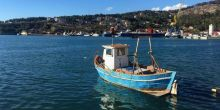 A small fishing boat off the Albanian coast (Photo: Essam Yassin Mohammed/IIED)