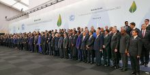 Heads of delegations at the 2015 UN climate talks (Photo: Office of the President of Mexico, Creative Commons via Flickr)