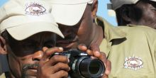 Rangers from the Conservancy Rhino Ranger Incentive Programme (Photo: Save the Rhino Trust)
