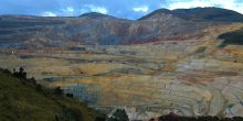 Yanacocha Mine, in Cajamarca, Peru. The country's Supreme Court last year ruled in favour of a farmer that a US gold miner claimed was illegally occupying land it wanted to develop (Golda Fuentes, Creative Commons, via Flickr)