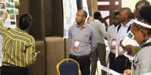 Market place sessions allow participants to share project experiences (Photo: Teresa Corcoran/IIED)