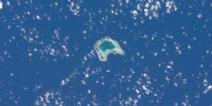 Tetiaroa Island in French Polynesia is one of many small islands that are highly vulnerable to climate change (Photo: NASA, Creative Commons via Flickr)