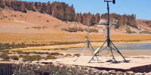 A proper technological integration would make feasible the implementation of more micro-grids such as this one, pictured, on Chile's border with Bolivia (Photo: Boris Lopicich)