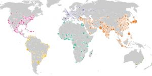 This IIED data visual shows the scale and speed of global urban transformation (Photo: Matt Wright/IIED)