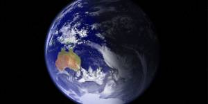 Blue, rather than green, is the dominant colour of planet earth (Photo: Google licence)