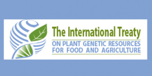 The logo of the International Treatyon Plant Genetic Resources for Food and Agriculture