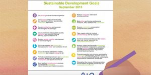 IIED's three-and-a-half minute film to communicate the ambitions and universal reach of the SDGs had been viewed almost 20,000 times by February 2017 (Image: IIED/Hands Up)
