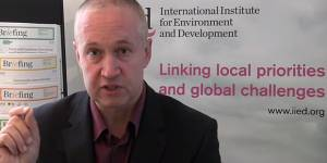 The focus of Green Economy Coalition convener Oliver Greenfield is on the SDG targets and indicators, and how that can lead to a green economy (Image: IIED)