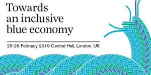 The logo for the Inclusive blue economy event