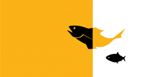 Icon of two fish