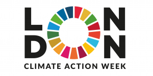 The logo for London Climate Action Week