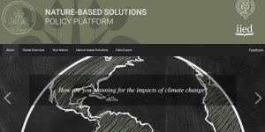 The Nature-based Solutions Policy Platform provides information about climate change adaptation planning around the globe