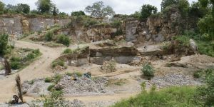 View of the quarry