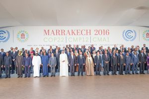 Heads of state from 80 countries join the King of Morocco at COP22, but the climate talks have not led to substantive action for the world's poorest (Photo: UNclimatechange, Creative Commons, via Flickr)