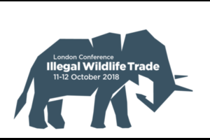Illegal Wildlife Trade Conference: London 2018 logo
