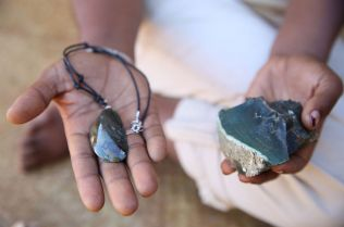 Transforming semi-precious stones into jewellery for sale