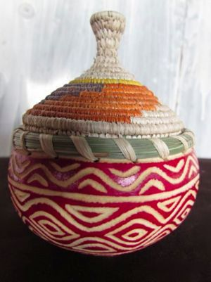 A new calabash product (Photo: Sanaa Gateja)