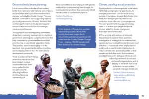 Decentralised climate financing is a key aspect of IIED's work (Image: IIED)