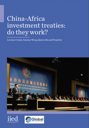 China-Africa investment treaties: do they work?