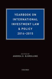 Cover: Yearbook on International Investment Law & Policy 2014-2015