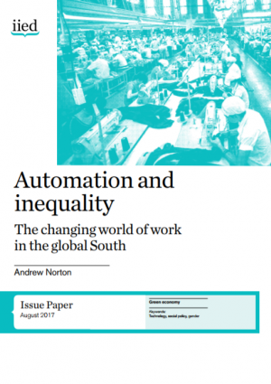 Automation and inequality: the changing world of work in the global South
