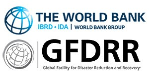 Logos of the World Bank and the Global Facility for Disaster Reduction and Recovery (GFDRR)