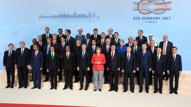 G20 summit participants (Photo: Office of the Russian president)