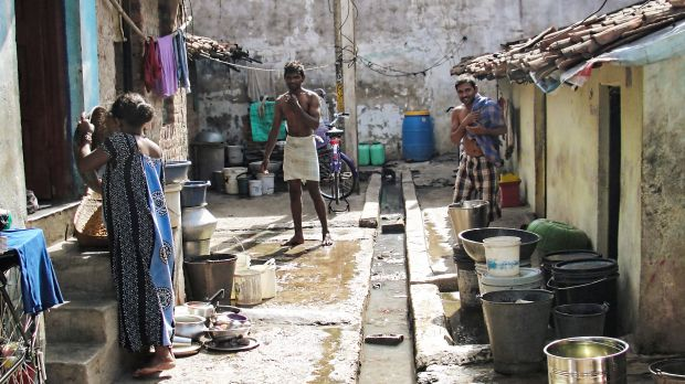 Raipur in Central India is developing into a major urban centre, but the infrastructure in the city's expanding informal settlements is poor (Photo: India Water Portal, Creative Commons via Flickr)