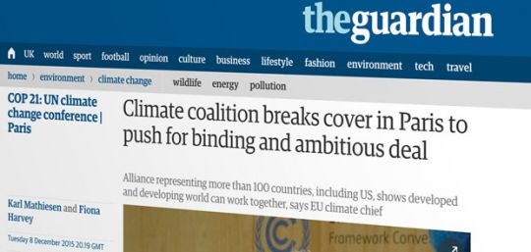 Screen shot from guardian.co.uk