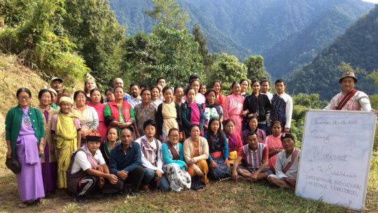Indigenous people at the Himalayan workshop