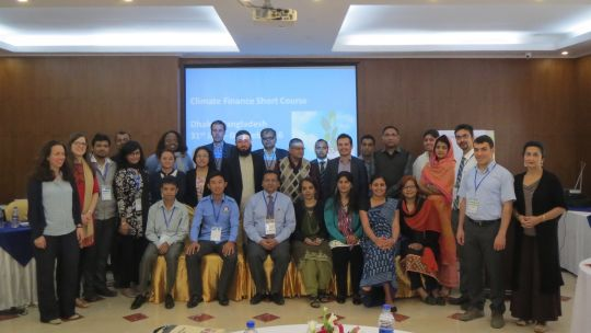 Participants in a 2016 short course for government officials from developing countries organised by ICCCAD and partners in Dhaka (Photo: ICCCAD, Creative Commons via Flickr)