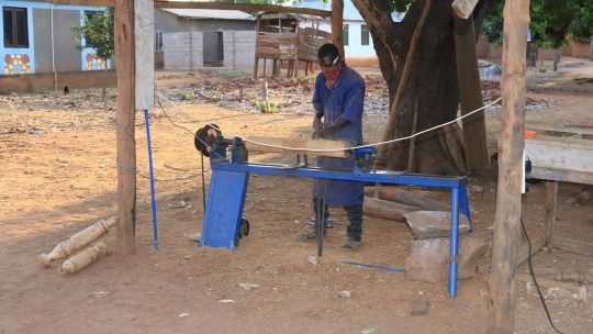 Furniture making is a profitable business in rural Tanzania (Photo: Energy Change Lab)