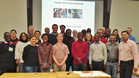Conference participants included academics and researchers from around the world. They agreed to set up a new working group to improve data on smallholder production (Photo: Duncan Macqueen)
