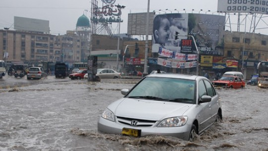 Urban flooding: the case of Karachi