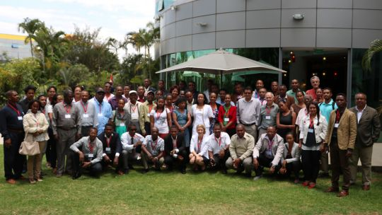 Regional and national stakeholders gathered in Antananarivo in October 2016 (Photo: Andry Rabemanantsoa/GIZ PAGE Madagascar)