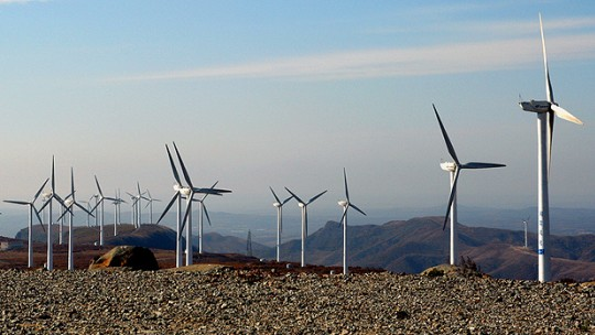 Should public money from Europe used to build wind farms, such as this one in Mulan, around 170km north east of Harbin City in Heilongiang, China, constitute official development assistance? (Photo: Land Rover Our Planet, Creative Commons, via Flickr)