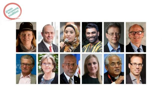 The faces of some of the experts who contributed their thoughts about a green economy (Image: GEC)