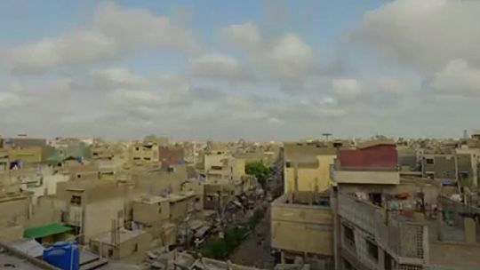 A view of Karachi from the film Karachi Rising (Image: Arif Hasan)