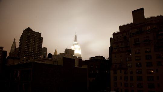 New York during the blackout caused by Hurricane Sandy (Photo: Chris Ford, Creative Commons via Flickr)