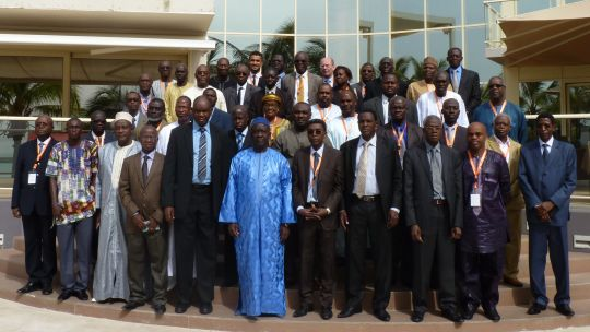 Delegates at the 4th Session of the Ministerial Monitoring Committee of Integrated Water Resources Management (IWRM) in West Africa (Photo: GWI West Africa)