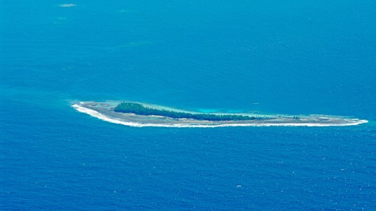 The island state of Tuvalu is profoundly threatened by climate change. Tuvalu's Prime Minister announced plans to switch to 100 per cent renewable energy by 2020. He was one of several LDC leaders to announce climate action.  (Photo: Tomoaki Inaba)