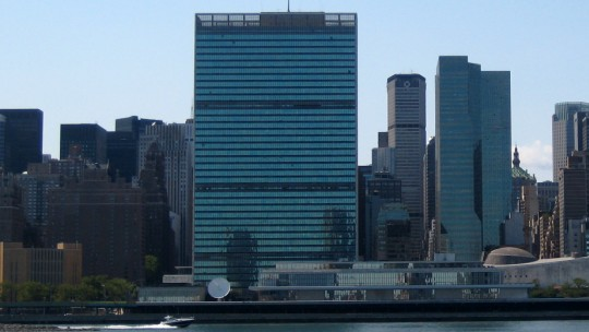 The United Nations headquarters in New York City (Photo: Wally Goetz, Creative Commons via Flickr)